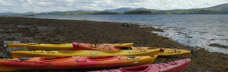 Kayak Bantry Bay - Kayaks on Shoreline